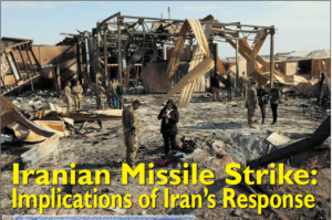 Red Diamond Volume 11 Issue 1    Iranian Missile Strike: Implications of Iran's Response