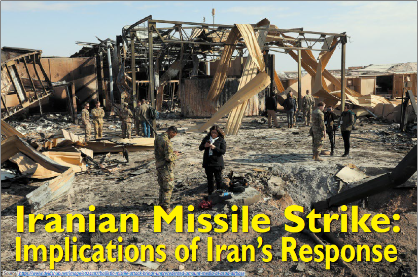 Read more about the article Red Diamond Volume 11 Issue 1    Iranian Missile Strike: Implications of Iran's Response