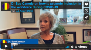 Dr Sue Canedy on how to promote inclusion in the workforce during COVID-19