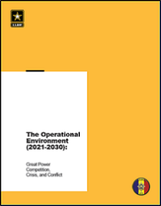 Read more about the article The Operational Environment (2021-2030): Great Power Competition, Crisis, and Conflict